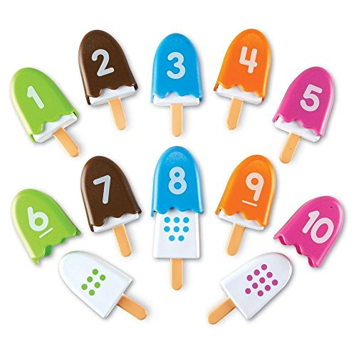 mart Snacks Number Pops, Set of 10 ()