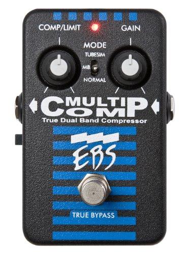 EBS EBS-MC Multi Comp True Dual Band Bass Compressor Pedal