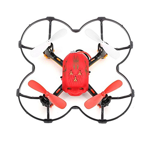 DICPOLIA Remote Control HelicopterNew GW008 Mini Multifunctional 2.4G 6 Axis RC Quadcopter Aircraft ,4 Channels RC Flying Helicopter 2 Blades Replace RC Plane Toy Gift for Beginner Adults (Red)