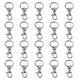 Best Detachable Key Rings - TRIXES 20 X Small Lobster Detachable Swivel Clasps Review