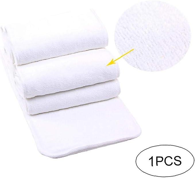 1pc Protección viejos pañales para adultos y compresas de algodón de microfibra de ventilación ambiental pañal hojas del cojín del protector de colchón pis pis almohadilla enuresis para adultos y: Amazon.es: Salud