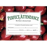 amazon com award certificates 10 pack perfect attendance