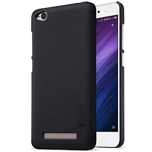Nillkin Frosted Shield Hard Back Case Cover + Screenguard for Xiaomi Redmi 4A   Black