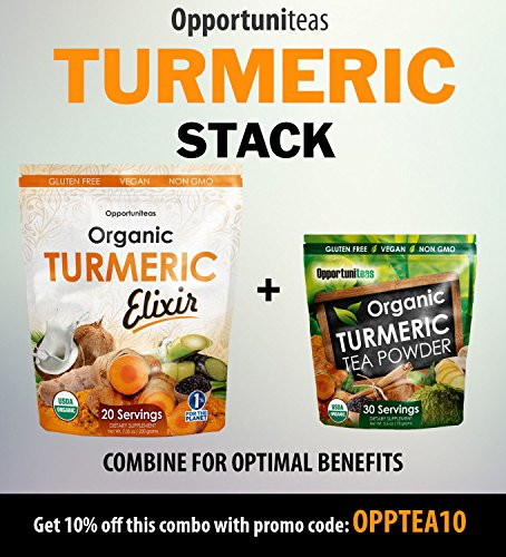 photo Wallpaper of Opportuniteas-Organic Golden Milk Turmeric Elixir, Natural Joint Support And Pain Relief-