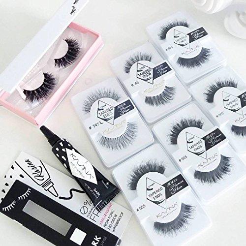 419FGFRSjJL KASINA Professional Natural Lash Adhesive Natural Hot Issue Korean Beauty, Dark, 0.25 oz./7 g