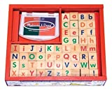 : Melissa & Doug Alphabet Stamp Set