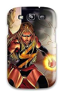 Best New Tpu Hard Case Premium Galaxy S3 Skin Case Cover(marvel) 3414989K74454755