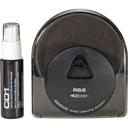 DISCWASHER RD-1104 CD/DVD Radial Disc Cleaning System