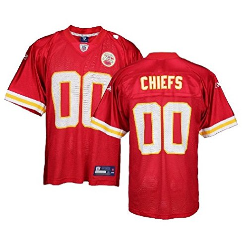 Kansas City Chiefs NFL Mens Team Replica Jersey, Red (Large) [Misc.] ()