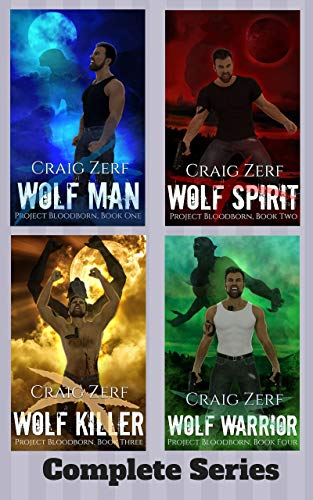 Project Bloodborn - Complete series. Wolf Man, Wolf Spirit, Wolf Killer, Wolf Warrior: A werewolves & shifters box set.]()