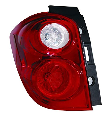 Depo 335-1950L-AF Chevrolet Equinox Driver Side Tail Lamp Assembly with Bulb and Socket (NSF Certified)