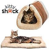 Hello Kitty Shack-2en 1Tube Tapis chat et lit pour chien, Accessoires