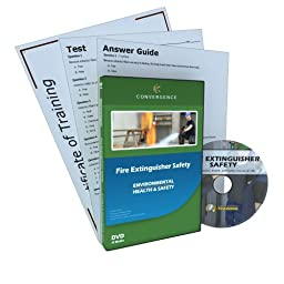 Convergence C-127 Fire Extinguisher Safety Training Program DVD, 16 minutes Time