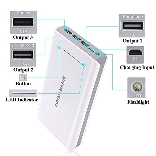 50000mAh Portable 3USB External Battery  - 6600 Mah New Generic Shopping Results
