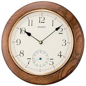 Seiko QXA432B - Reloj analógico de pared de cuarzo;Seiko Wanduhr Analog QXA432B 1