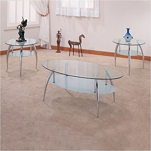 Coaster Home Furnishings Contemporary Living Room 3 Piece Se