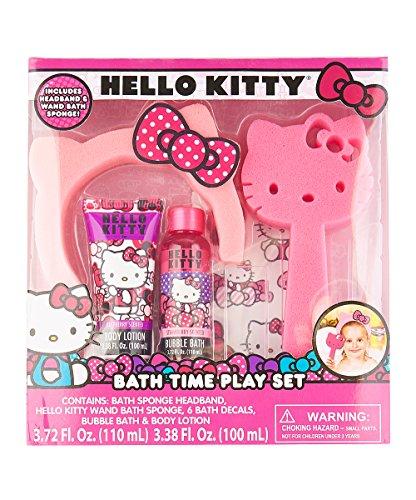SANRIO Hello Kitty Bath Time Sponge Set for Kids