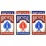 Bicycle Rider Back Poker Playing Cards Pack of 6 …