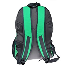 New Style Pale-green and Gray Mp3 Boom Speaker Backpack with a Black Battery Cover