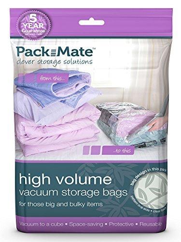 Packmate 2 Sacchetti Sottovuoto Salvaspazio Misura Xl 85 X 50 Cm