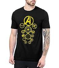 Mens Black Infinity Shirt