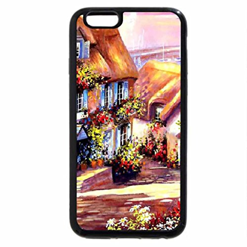 iPhone 6S / iPhone 6 Case (Black) Country Village