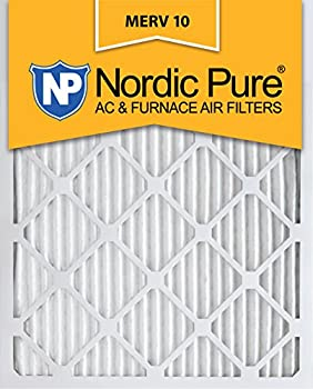 Nordic Pure 12x20x1 MERV 10 Pleated AC Furnace Air Filter,  Box of 12