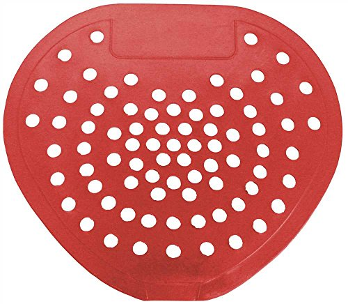 Health Gards Urinal Screen Vinyl, Cherry, 12 Per Case
