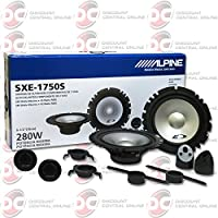 Alpine 6-1/2 6.5 inch 2-way Car audio component speakers system Pair
