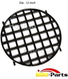 Hongso PCH834 Porcelain Coated Cast Iron Gourmet BBQ System Sear Grate Replacement for Weber 8834, 22-1/2-inch Weber charcoal grills