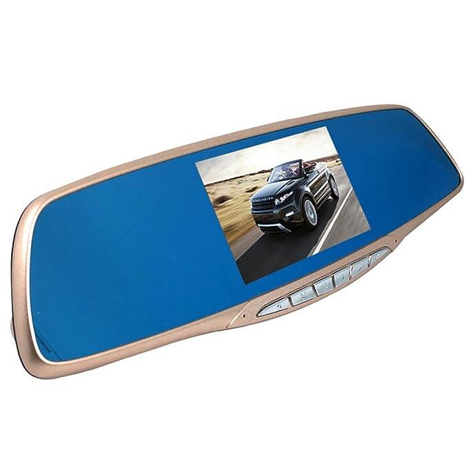 WJJ- 1080p HD en la cámara de la leva de la rociada del coche, registrador video del tablero de instrumentos de DVR, cámara del espejo de Rearview con la ...