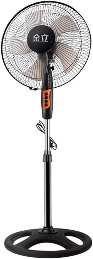 ZLZNX Ventilador de Pie ForceSilence con 3 Niveles de Ventilación Oscilación Automática Orientación y Altura Ajustable para Casa u Oficina,Steering Wheel Base