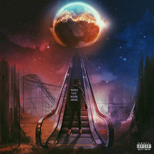 Travis Scott Wish You were here Album Cover Poster 12 x 18 Inch Rolled Poster from United Mart Poster
