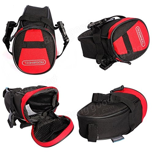 Cycling Bike Bicycle Rear Seat Saddle 1L Tail Bag Quick Release ( Colorful ) by Freelance Shop SportingGoods (Image #4)