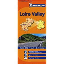 Michelin Loire Valley 517 Regional France