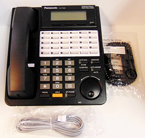 Telephone Td Systems Kx (PANASONIC KX-T7453 3 LINE BACKLIT DISPLAY SPKR PHONE (BLACK))