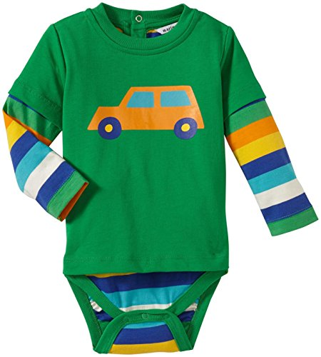 marimekko-baby-boys-newborn-truck-layered-bodysuit-green-6-months
