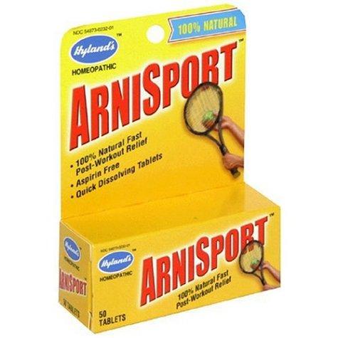 Hyland ArniSport, 50-Tablets (Pack de 4)