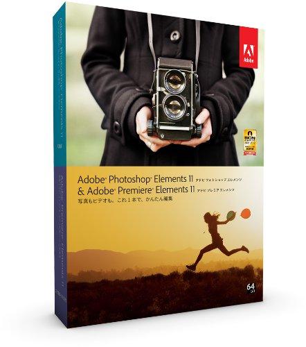 Adobe Photoshop Elements 11 & Premiere Elements 11 Windows/Macintosh版 (Elements 12への無償アップグレード対象 2013/12/23まで) B0095884X8 Parent