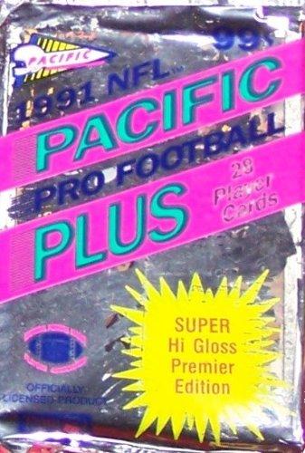 - 1991 Pacific Football Card Jumbo Pack