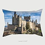 Custom Satin Pillowcase Protector The Alcazar Of Segovia Spain 338675621 Pillow Case Covers Decorative
