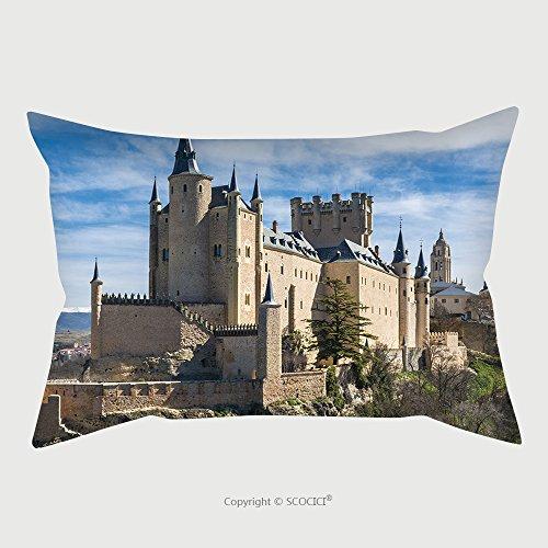 Custom Satin Pillowcase Protector The Alcazar Of Segovia Spain 338675621 Pillow Case Covers Decorative by chaoran
