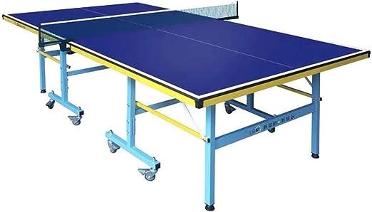 Tabla de Tenis Profesional Mesa de Ping-Pong - Plegable, Ahorro de ...
