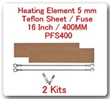 2 Kits Replacement Elements for Impulse Sealer