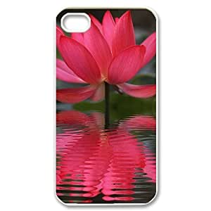 Customized Flower Diy Iphone 4/4s hard Case VY121814