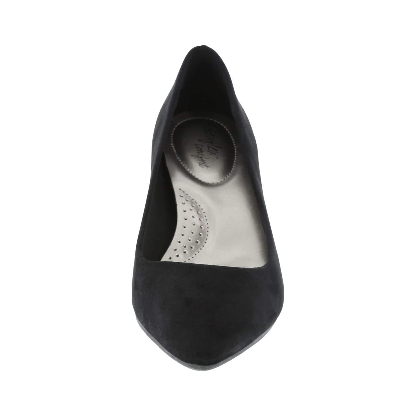 dexflex Comfort Black Suede Women's