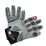 barnett Football Running Back Glove Frg-02 (2XL, silver)