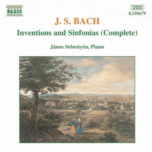 2-Part Inventions Nos. 1-15, BWV 772-786 +: Invention No. 13 in A minor, BWV 784
