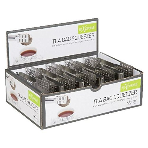 Kitchen Craft Stainless Steel Tea Bag Squeezer (Pack of 2) Le'Xpress
