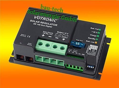 Votronic Solar Laderegler SR140 Digital 9Amper 12Volt von bau-tech Solarenergie GmbH
